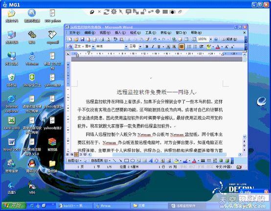 网络人:适合光棍使用的远程控制软件