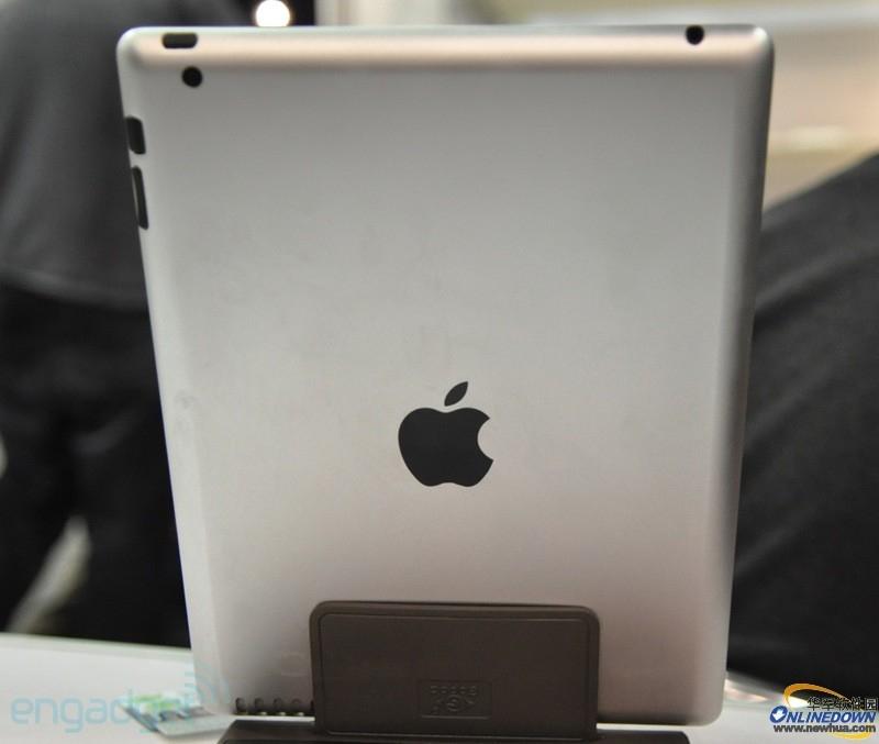 iPad2实物模型现身CES