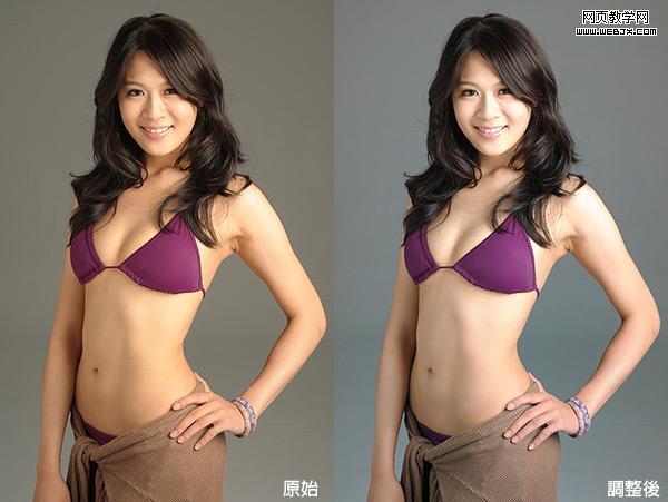 PS混合模式快速修正偏色的照片
