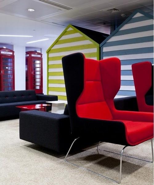走进谷歌新伦敦办公室:游乐场风格