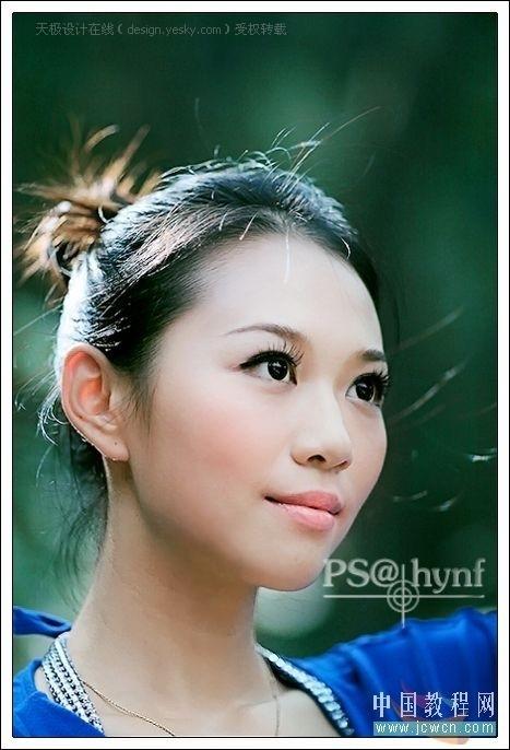 用Photoshop计算命令优化美女照片皮肤