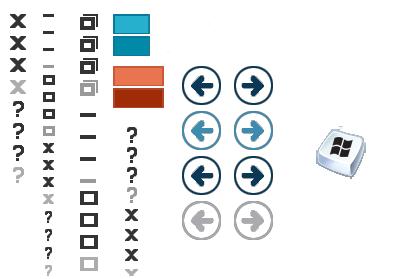 采用新按钮Windows8新视觉主题