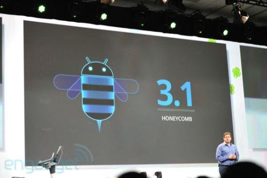 谷歌推Android 3.1系统 下一代版本年底发布