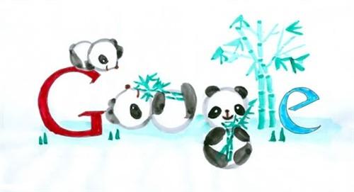 谷歌绘画大赛中国中小学生设计的谷歌LOGO