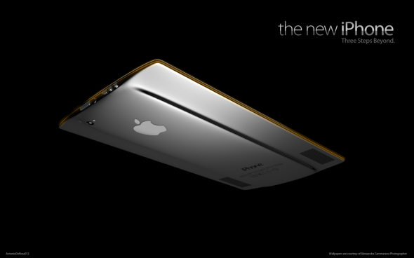 超薄超美iPhone 5强悍设想图流出 流线型设计