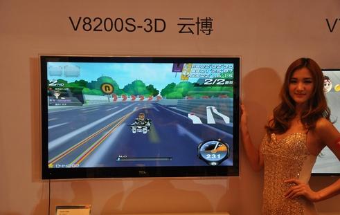 如何在TCL智能电视上玩QQ飞车极速漂移。