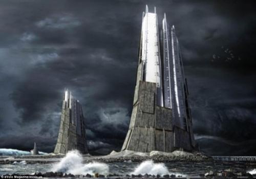 想像未来八大壮观派摩天大楼:诺亚方舟自给自足