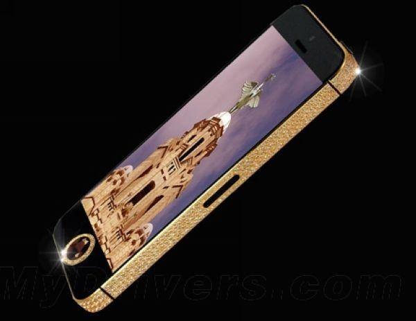 名副其实的土豪!私人订制价值亿元人民币的iPhone 5s