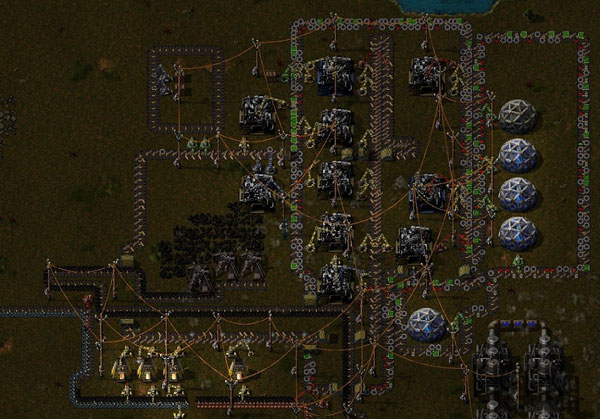 异星工厂双环线红绿瓶循环生产线游戏玩法技巧分享