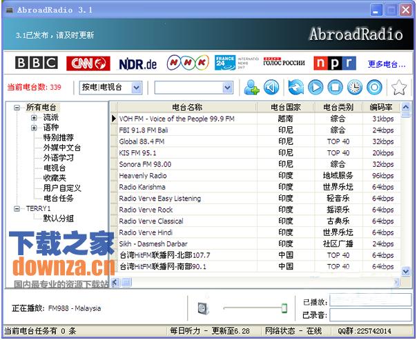 国外电台AbroadRadio