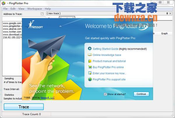 Pingplotter Pro(网络地址)