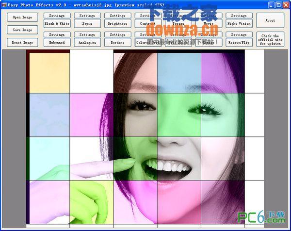 图片添加滤镜效果软件(Easy Photo Effects)