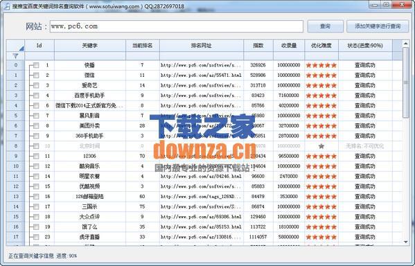 搜推宝百度关键词排名查询软件