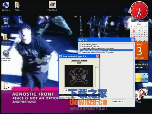 Desktop Movie Player(动态桌面播放器)