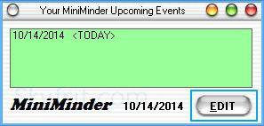 桌面备忘软件(MiniMinder)