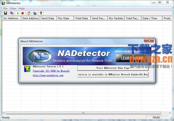 网络流量分析软件(NADetector)