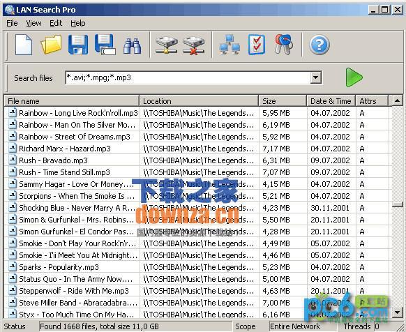 LAN Search(局域网文件搜索)