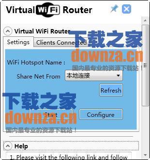 虚拟无线路由器(Virtual WiFi Router)