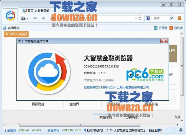 大智慧金融浏览器