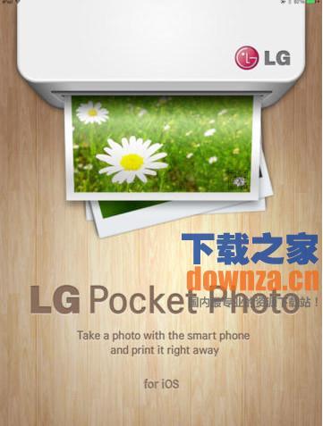 LG Pocket Photo iPad版
