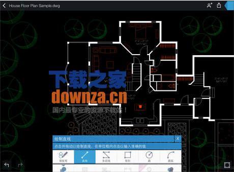 Autocad360iPad版V3.5.4排版块图纸加气cad蒸压图片