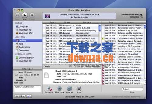 ProtectMac AntiVirus for mac截图