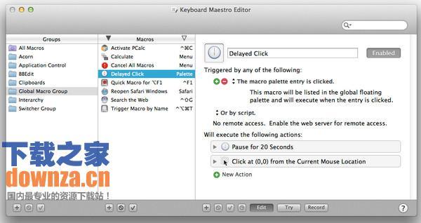 Keyboard Maestro for mac