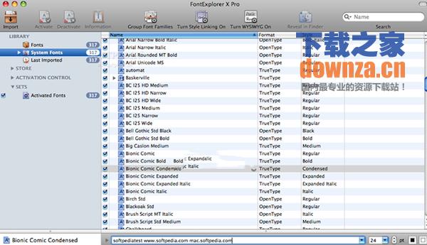 FontExplorer X Pro for mac