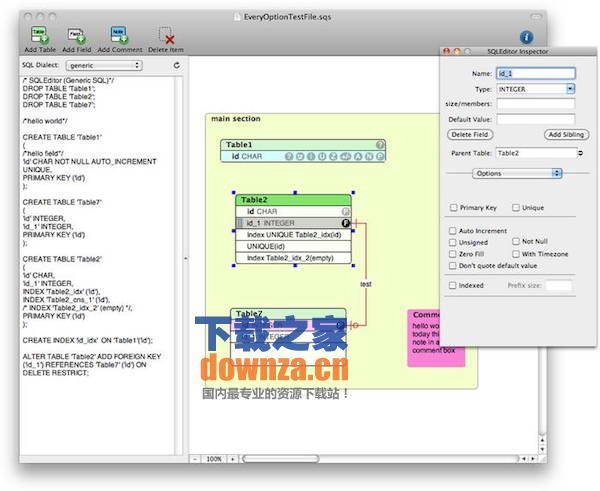 SQLEditor for mac