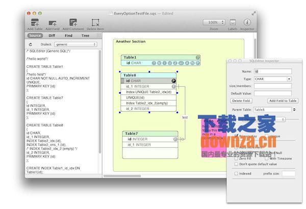 SQLEditor for mac截图