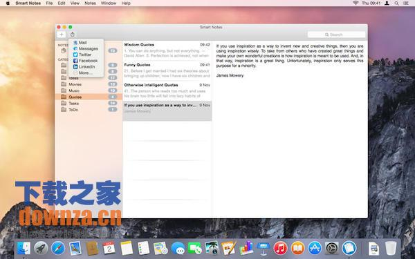 Smart Notes mac版截图
