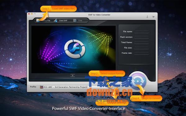 swf to video converter pro mac