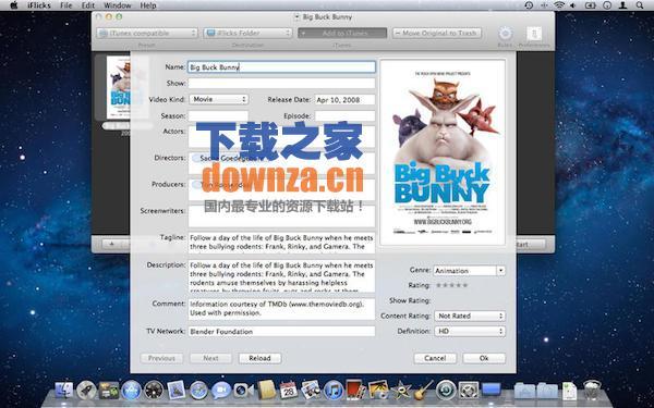 iFlicks for mac