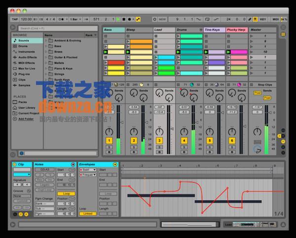 Ableton Live suite Mac版