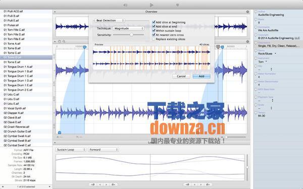 Loop Editor for mac