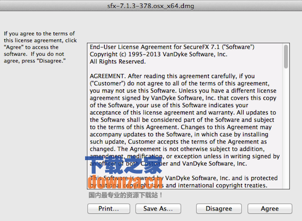 SecureFX for mac