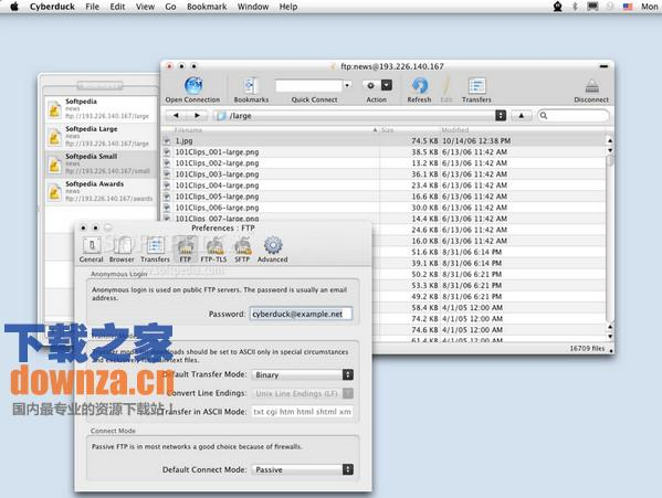 Cyberduck Mac版截图