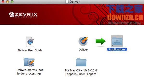 Deliver for mac