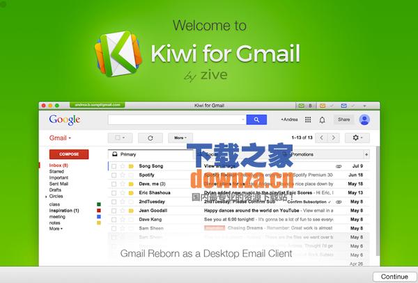 kiwi for Gmail截图
