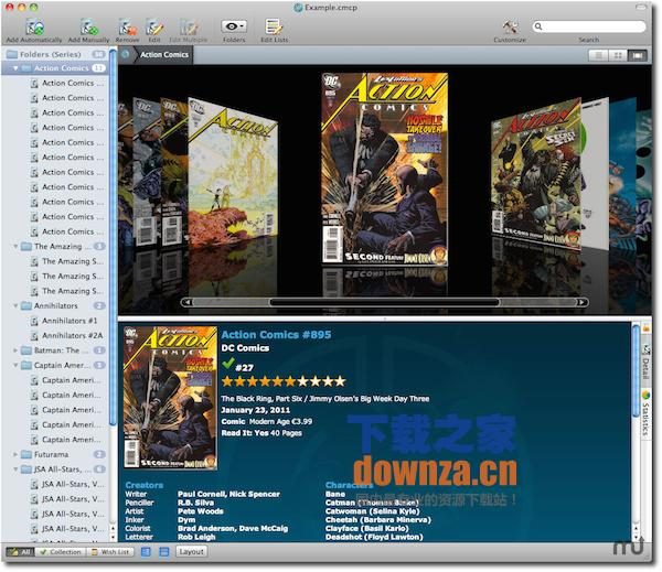 Comic Collector for mac
