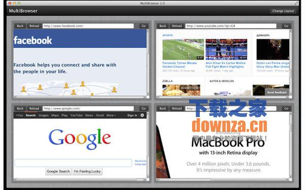 MultiBrowser for mac