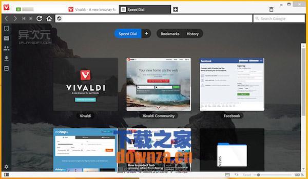 Vivaldi浏览器Mac版截图