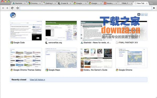 Chromium Mac版截图