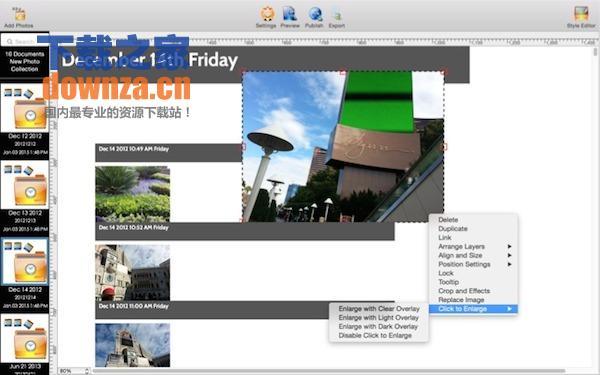 My Photos Over Time mac