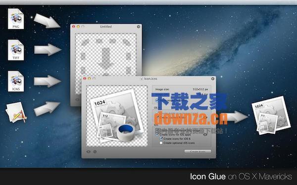 Icon Glue for mac