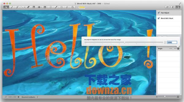 LiveQuartz Photo Edit for mac