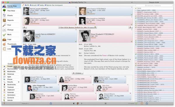 Reunion for mac截图