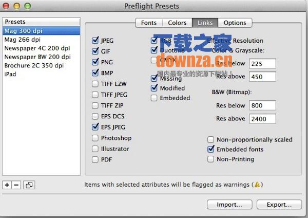 InPreflight Pro for mac截图