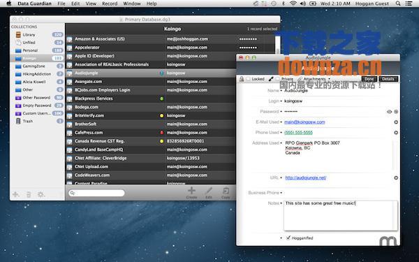 Data Guardian for mac