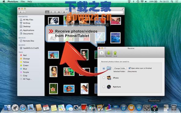 PhotoSync for mac